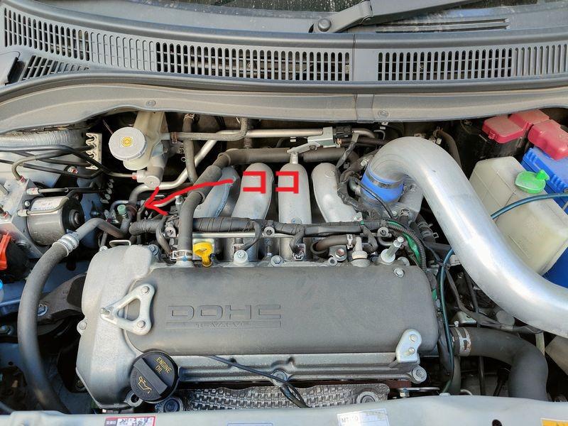 ZC31Sエンジンルーム